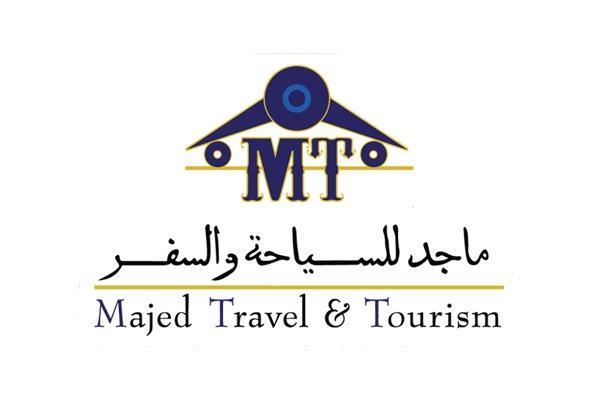 Majed travel and tourism logo