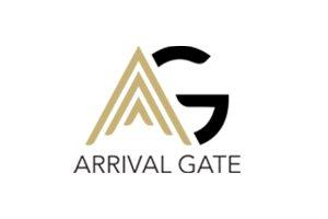 Arrival gate logo
